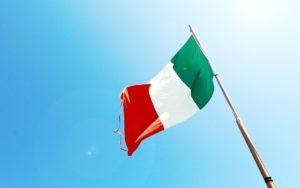 bandiera italia per articolo sulla fuga dei cervelli
