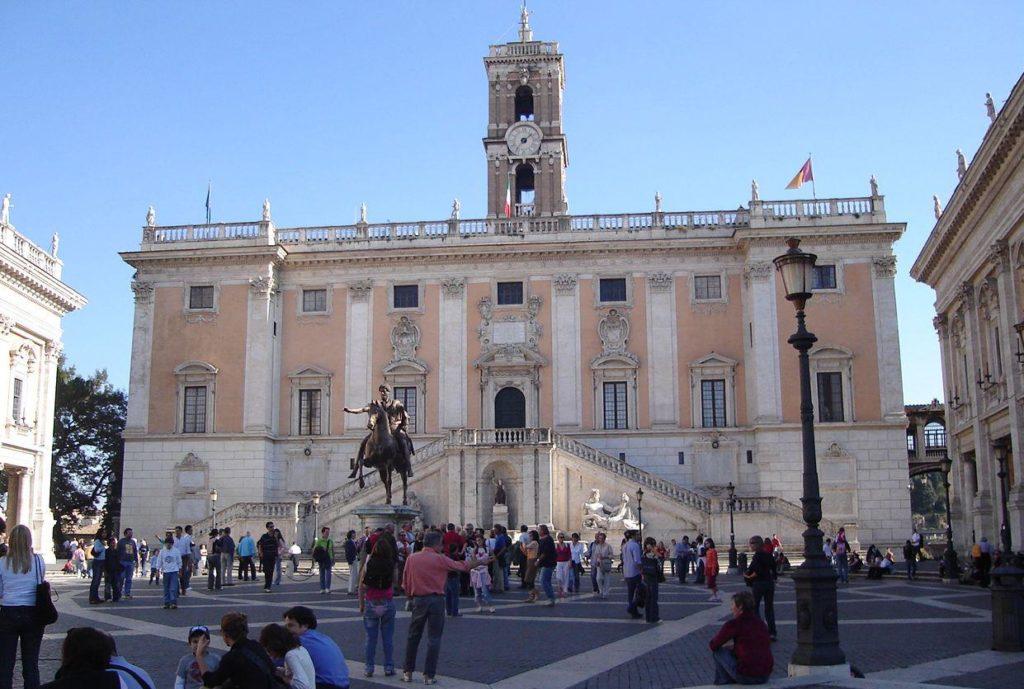 Campidoglio per articolo Aeterna Roma
