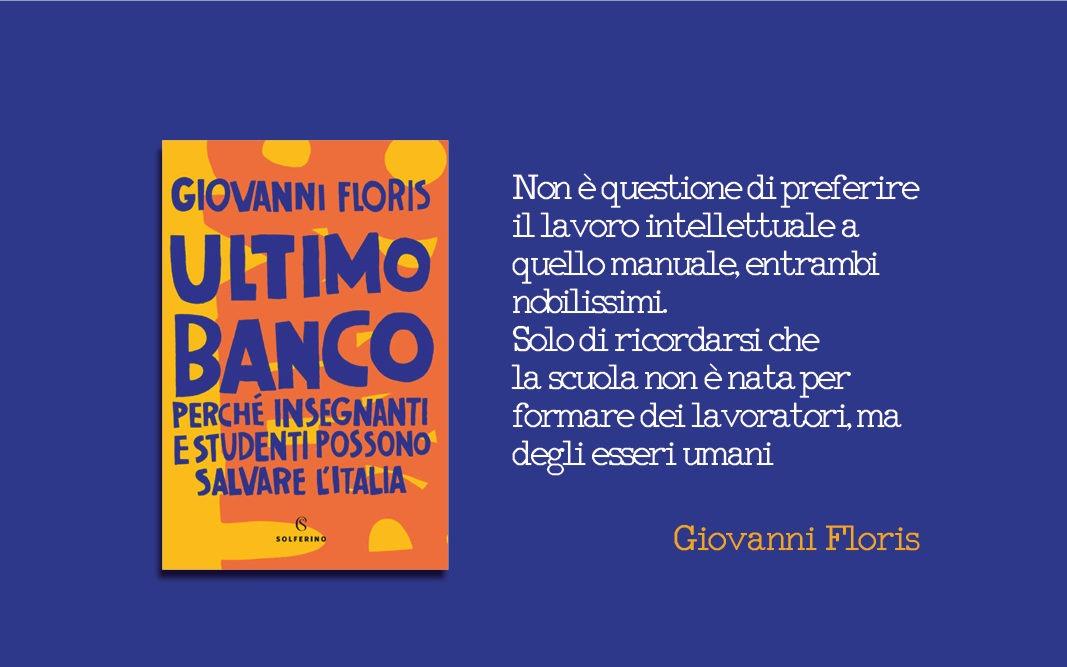 Giovanni Floris pubblica il suo nuovo libro sulla scuola