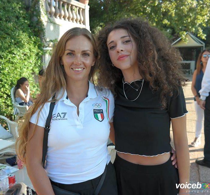 Francesca Bettrone e Carlotta a Vivere da sportivi