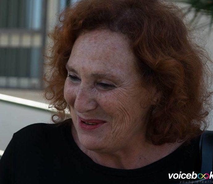 Rosa Magiar ai microfoni di voicebookradio.com - evento di Ventotene