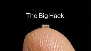 grandezza microchip su un dito riguardo l'articolo sulla cina che spia tramite i microchip
