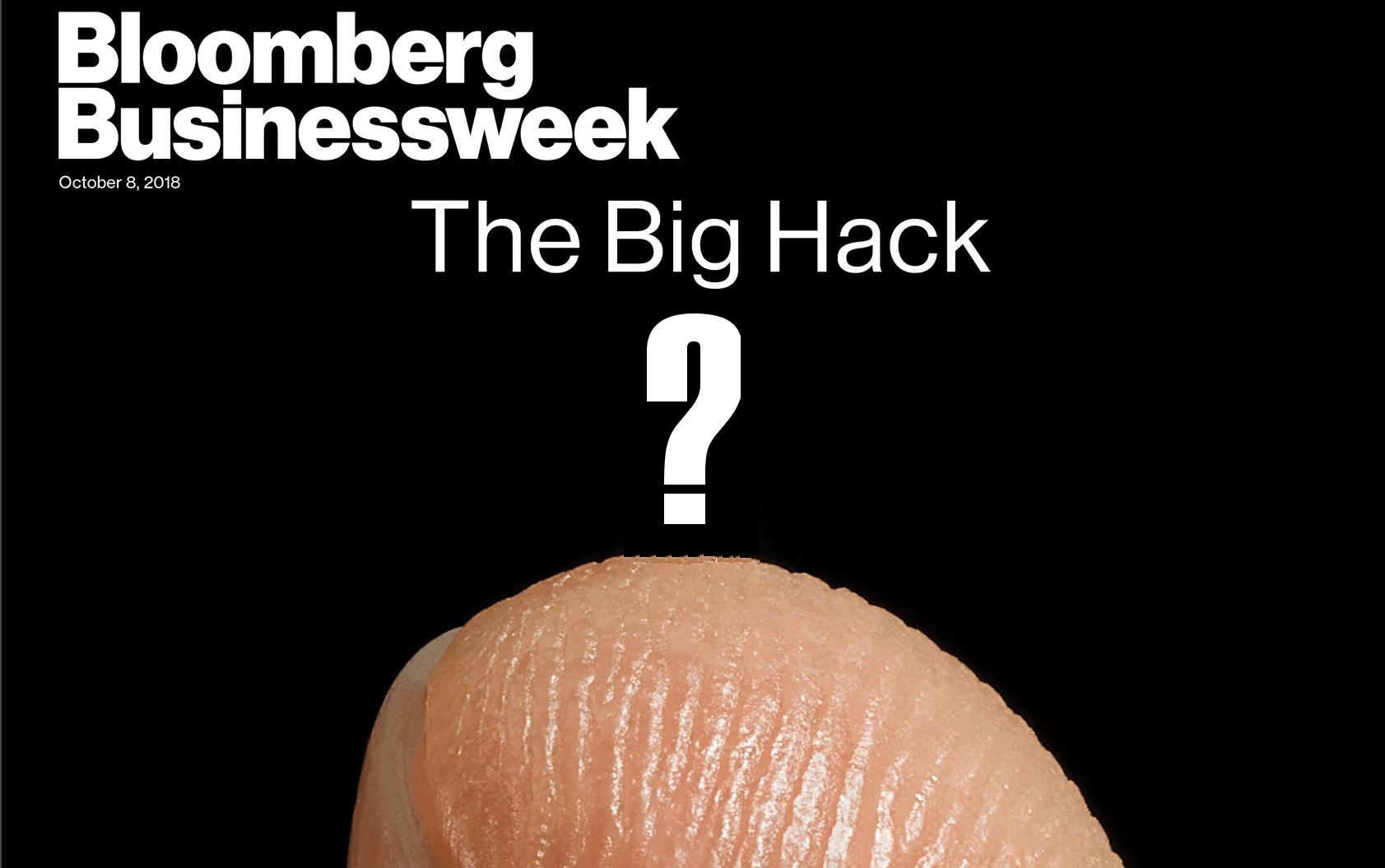 Immagine per la copertina dell'articolo dei microchip presa dall'articolo originale di bloomerg