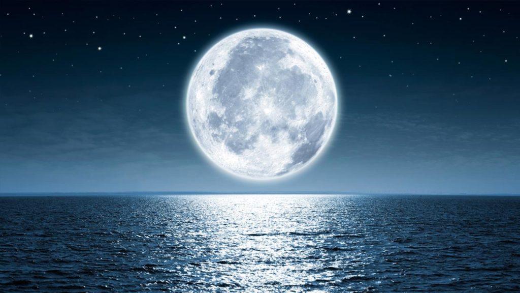 Foto luna usata per l'articolo della luna artificiale