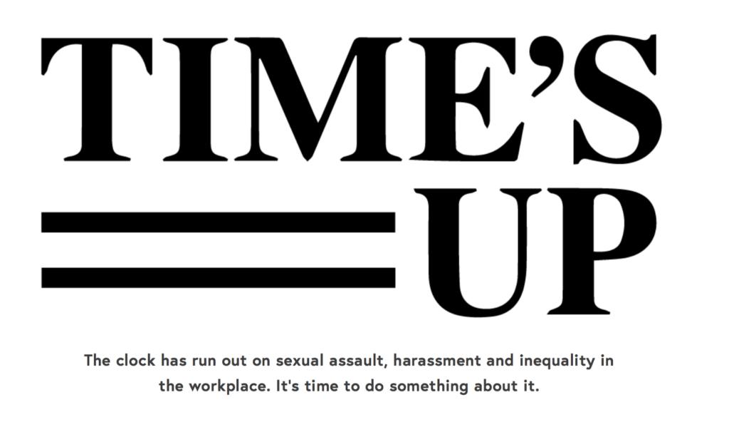 Time's up: l'associazione che dal 2018 pensa ai diritti delle donne