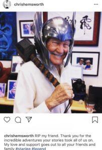 Stan Lee nei panni di Thor