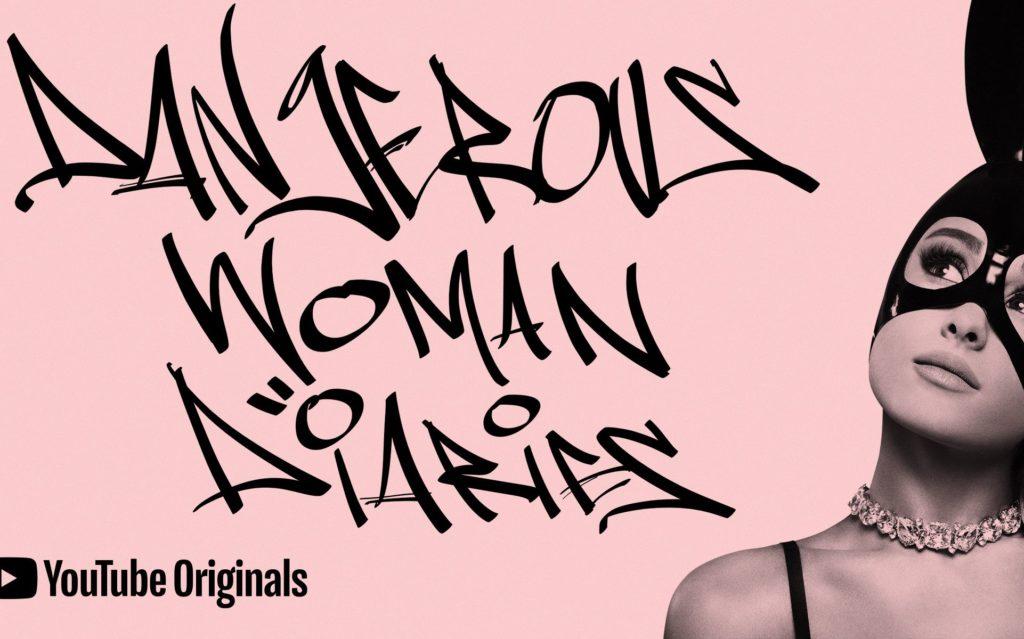 """Locandina della serie """"Dangerous Woman Diares"""" di Ariana Grande"""