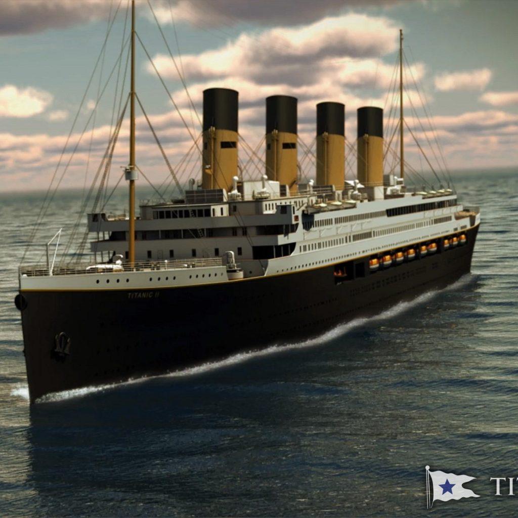 Il Titanic II partirà nel 2022