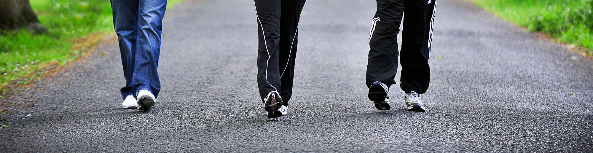 Uno studio rivela i benefici di camminare durante l'inverno