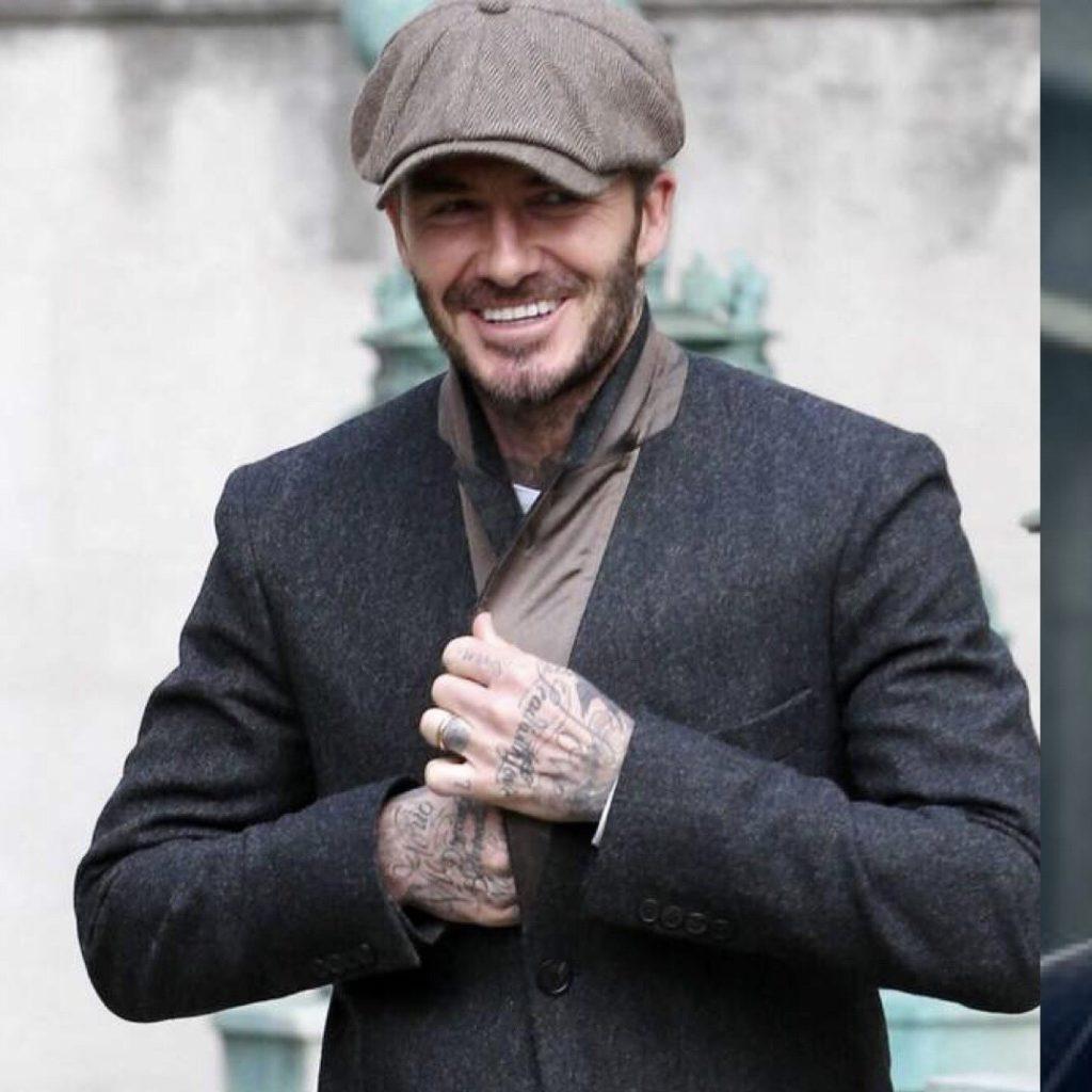 Beckham crea una linea di abbigliamento ispirandosi a Peaky Blinders