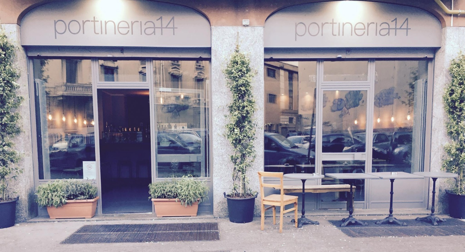Apre a Milano Portineria14: un bar che è anche portineria