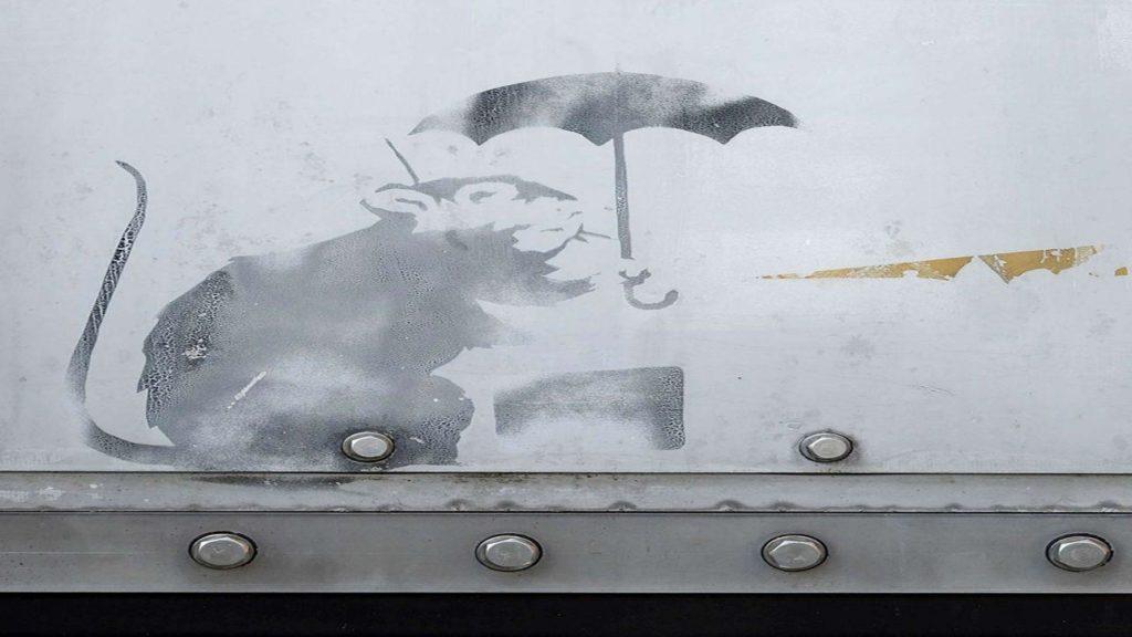 Nuovo graffito di Banksy a Tokyo?