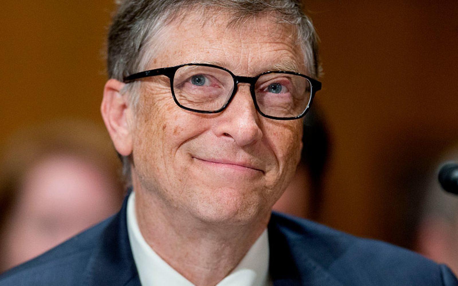 Il patron di Microsoft, Bill Gates