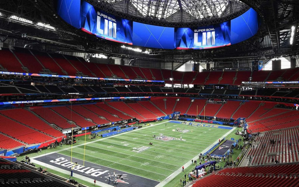 super bowl 2019 mercedes benz arena