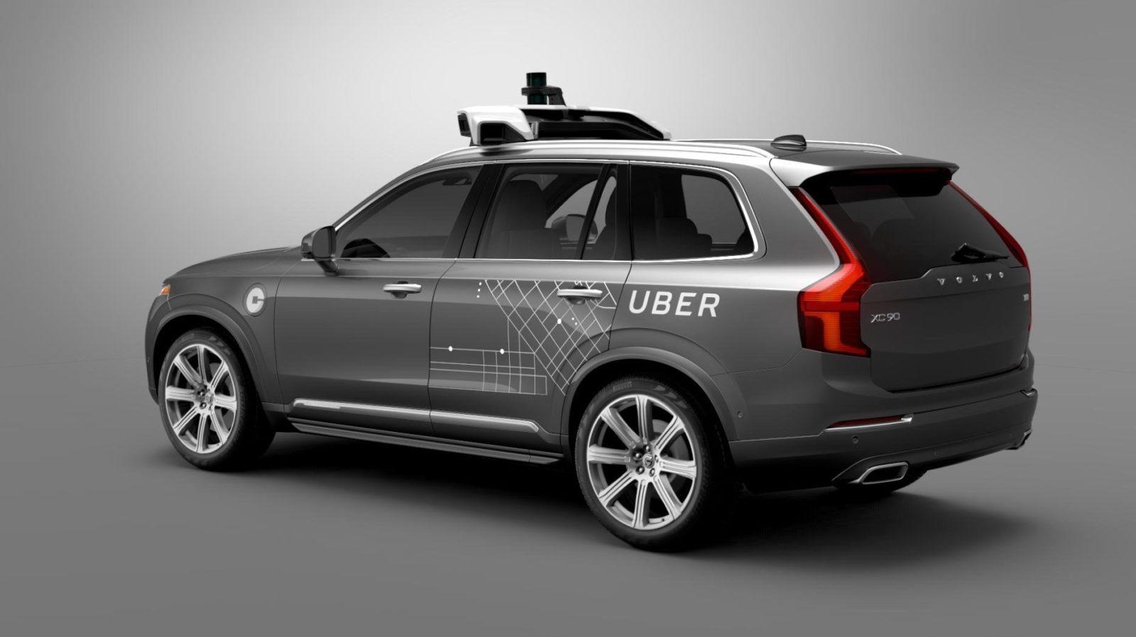 macchina uber per articolo su intelligenza artificiale