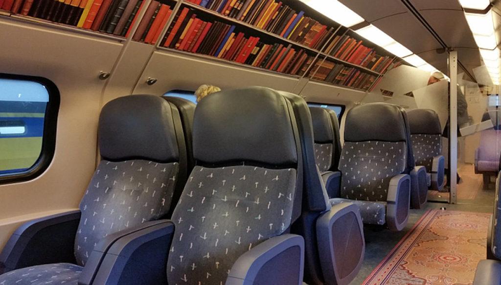treni biblioteca in Olanda