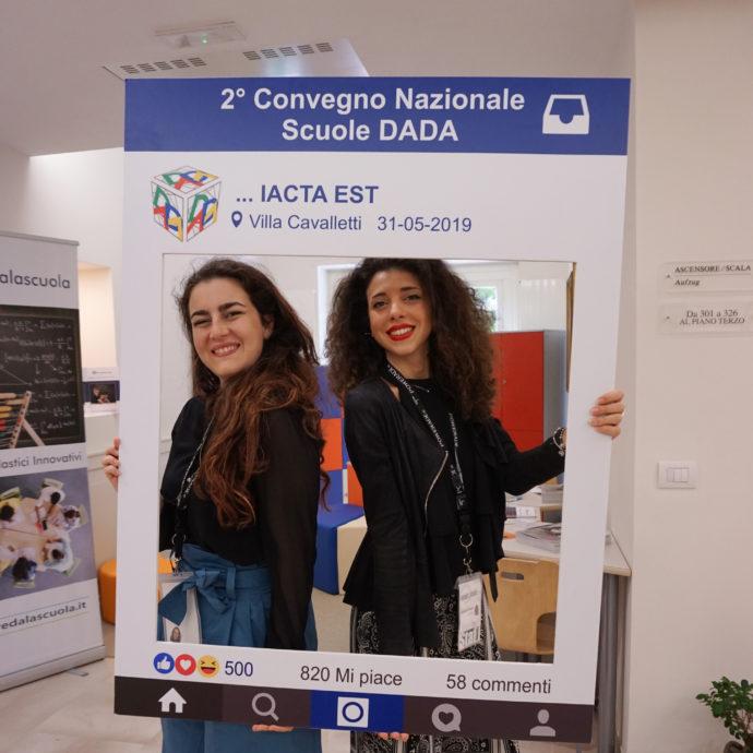 Carlotta voicebookradio.com convegno DADA Iacta Est