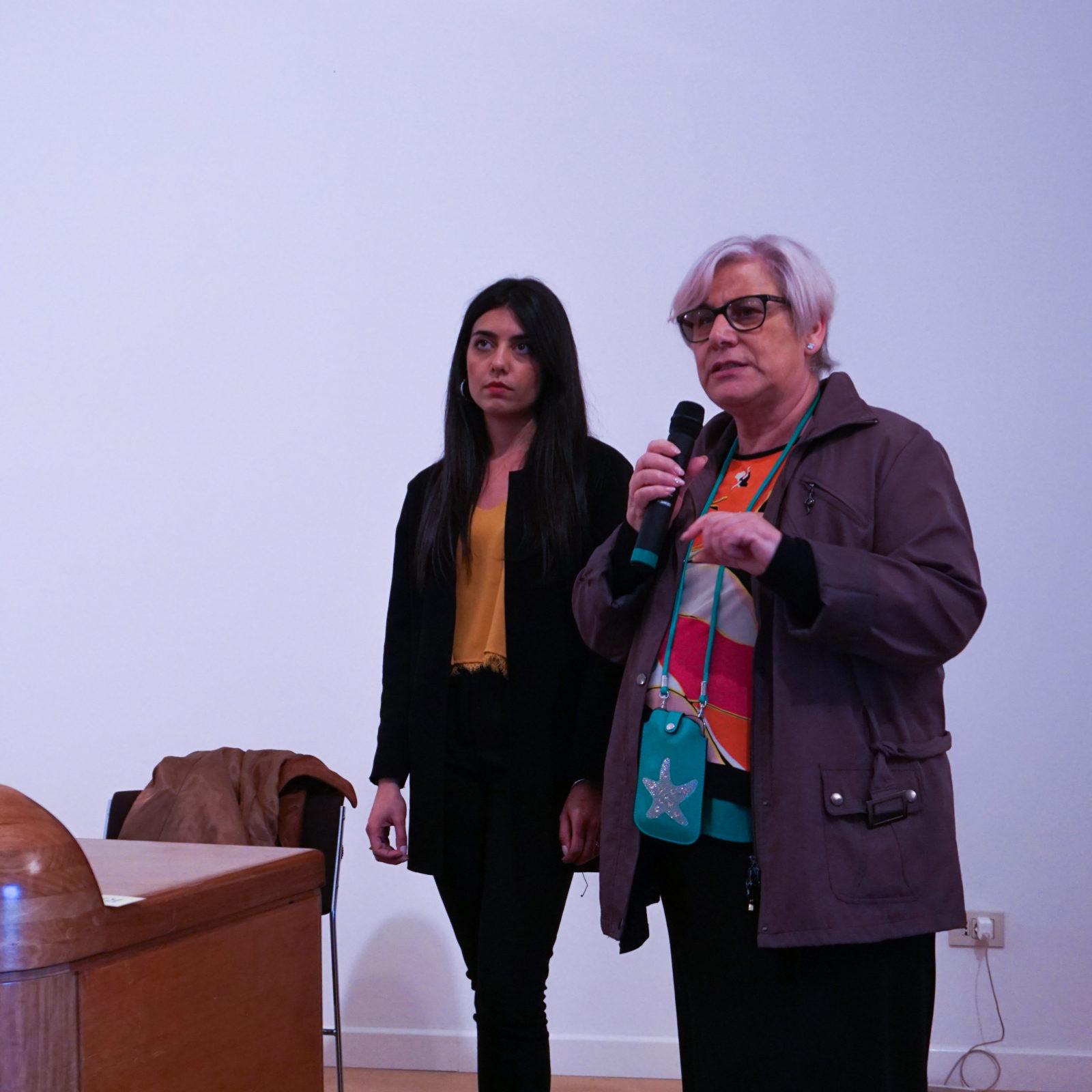 Leandra Calabresi e Savina Ieni convegno DADA Iacta Est