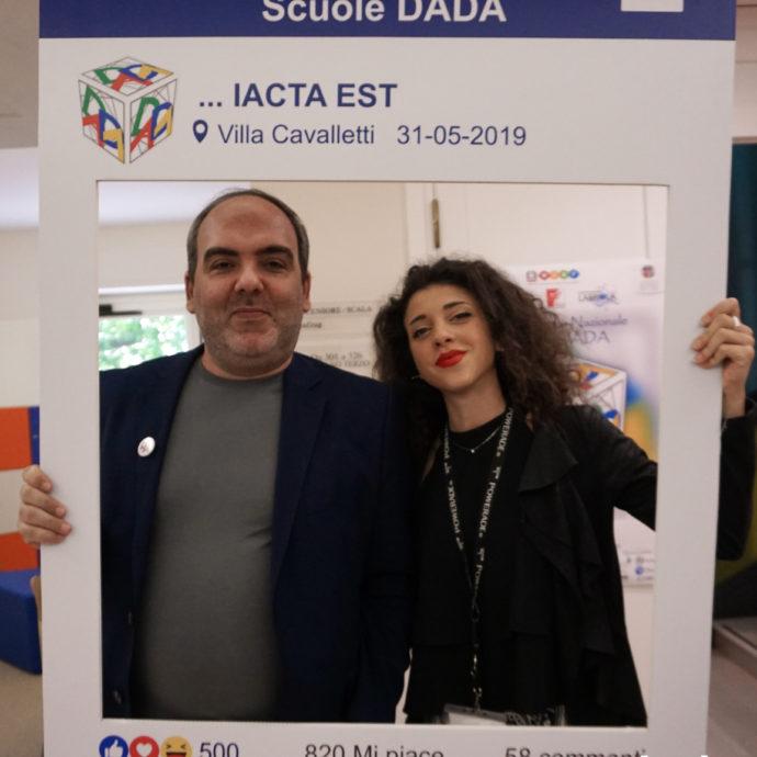 Maurizio Marchettini e Gaetano Di Sabato J.F. Kennedy convegno DADA Iacta Est